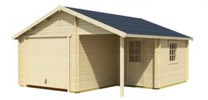 Einzelgarage Bausatz Spitzdach