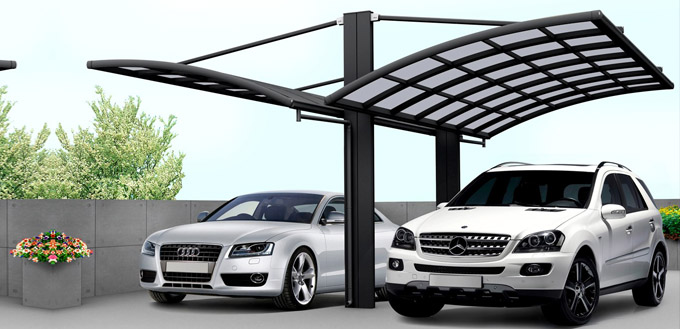 einzelcarport doppelcarports baus tze aus holz metall. Black Bedroom Furniture Sets. Home Design Ideas